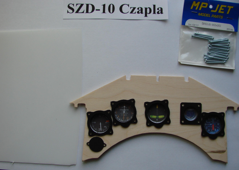 zegary szd-10 czapla