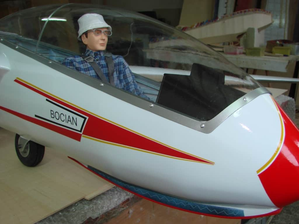 Pilot glider