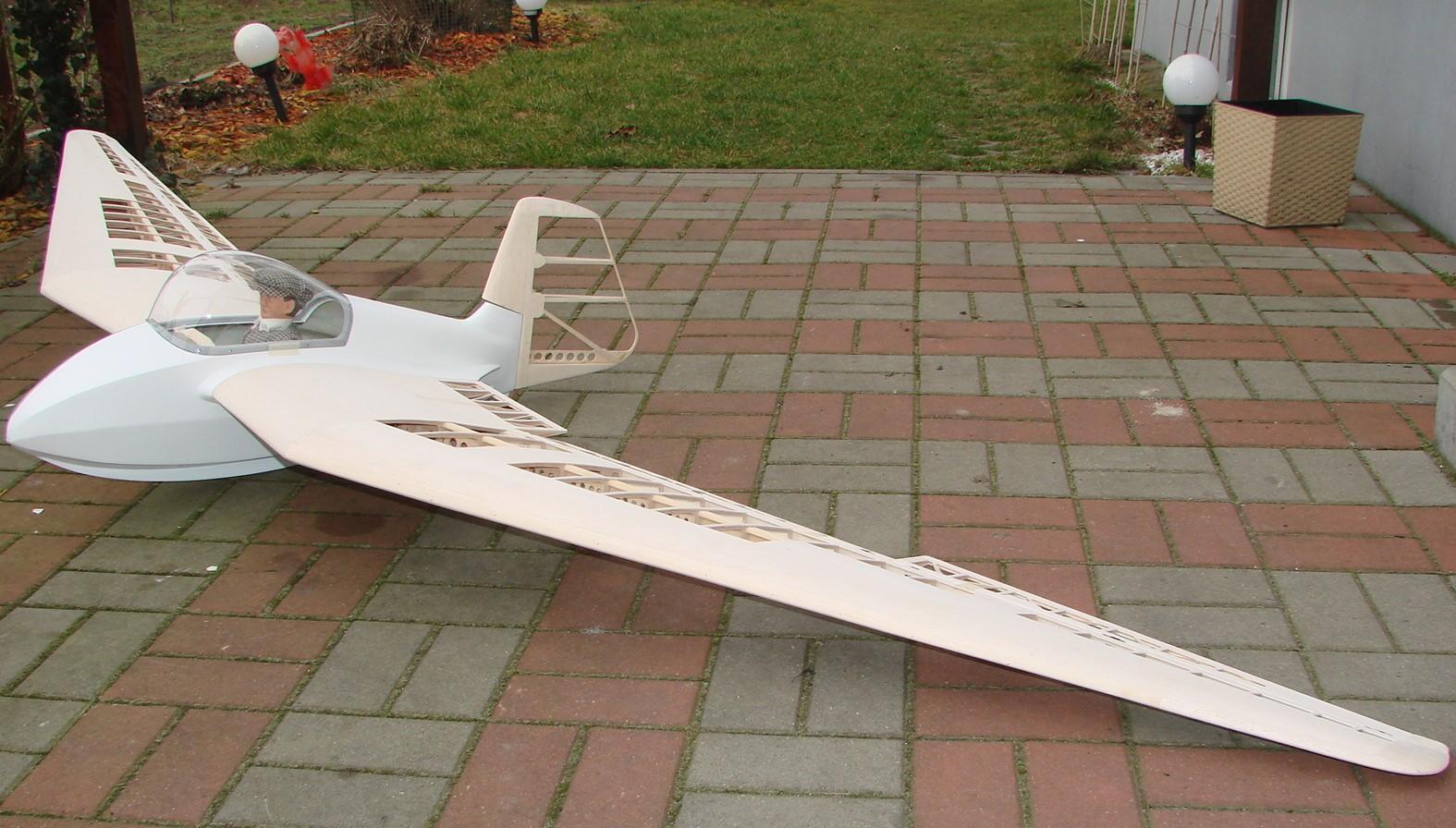 SZD-6X Nietoperz 3m